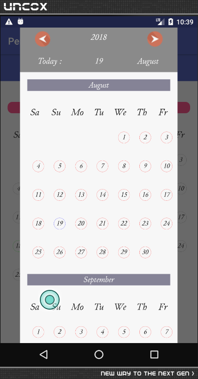 Introdeuce Material Date Picker with support 2 Languagies